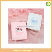 2015 Popular paper wedding invitations box