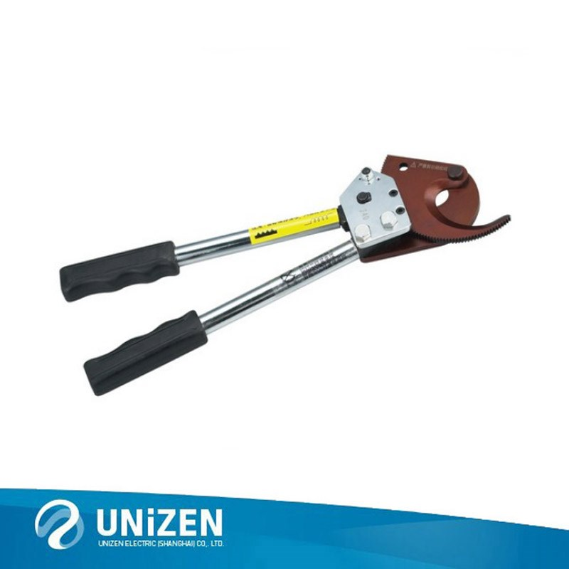 J40 Ratchet Types Cable Cutter for for Armored cable and Copper and Aluminum Cable 300mm2 Cutting Tools
