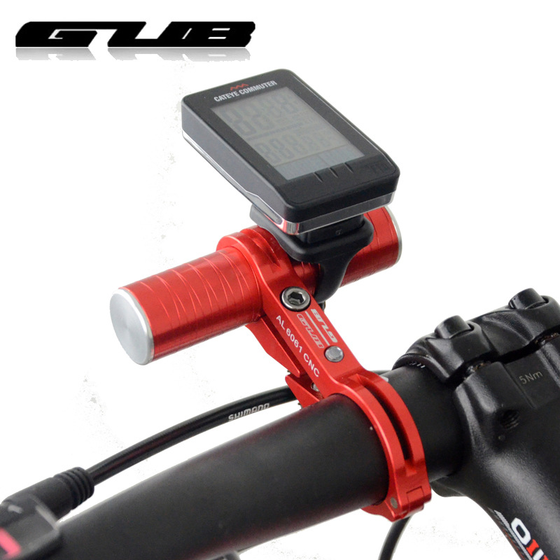 GUB G329 328 bicycle lamp bracket horizontal extended seat table clamp extension frame of carbon fiber