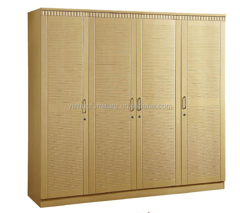 foshan factory MDF and particle board with PVC Custom made particle board wardrobe with L shape design or <strong>U</strong> shape,I shape
