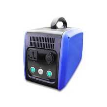 Portable 1500Wh DC 12V Solar Generator Rechargeable Battery for Home Camping