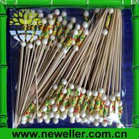 2014Wholesale cake baking pick skewer stick With OPP Bag