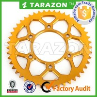 Buy From China Factory Moto Spare Parts 7075 Aluminium Chain Sprockets for Off Road Bike