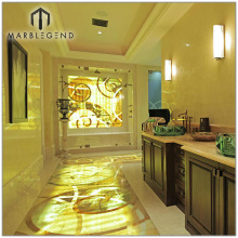 Imperial Shinning Modern Marble Inlay Waterjet Flooring Design