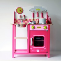 Large Stove Wooden Toys Wooden Kitchen