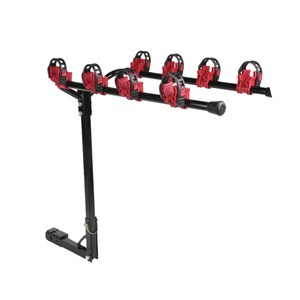 4 Bike Hitch Trunk Mount Bicycle Carrier Rack for Car