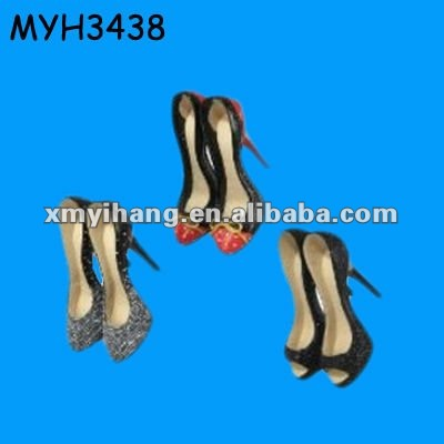 polyresin hanging party use high heels shoes decorations