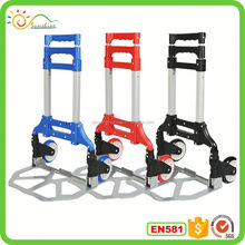 Hot sale luggage trolley aluminum alloy aircraft meal trolley