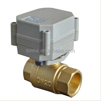 3/4'' Brass Electric Motorized Valve for Water Treatment (T20-B2-A)