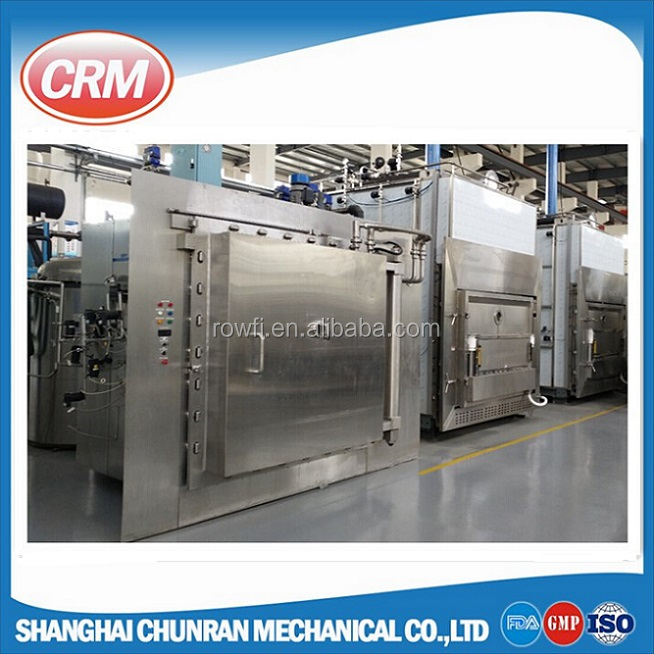 computerized automatic food freeze dryer machine for meat , fruit and vegetable