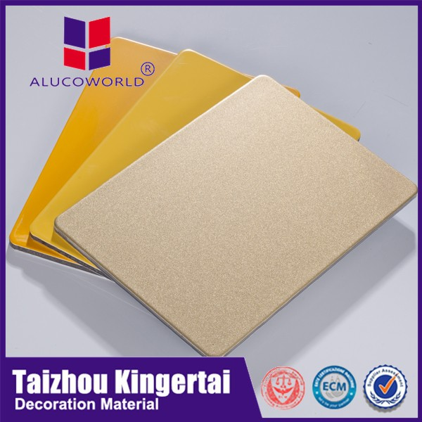 Alucoworld 3mm acp good price ,aluminum products supplier ,aluminum plastic composite sheet