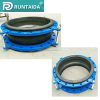 High flexiblity epdm exhaust bellows expansion joint for pipe fitting