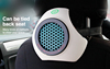 BMN168 new design Natural scents sel-replacement air purifier car air refresher,air ionizer for cars