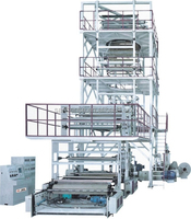QS-GS1500 multi- layers coextrusion film blowing machine