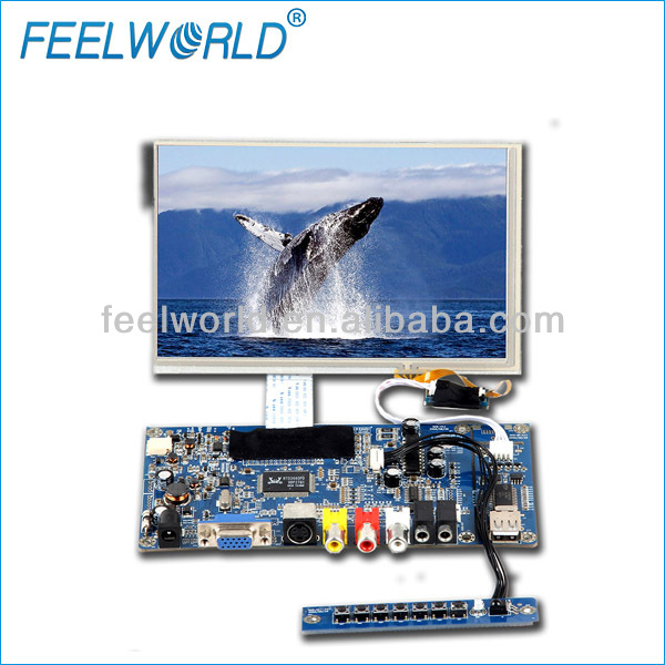 Feelworld vga hdmi Touchscreen Monitor 8 inch lcd panel module for Industrial Display Control