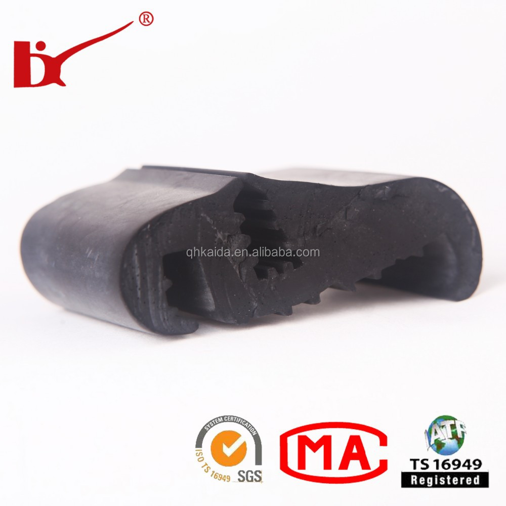 Car Door garage door window rubber with good quality