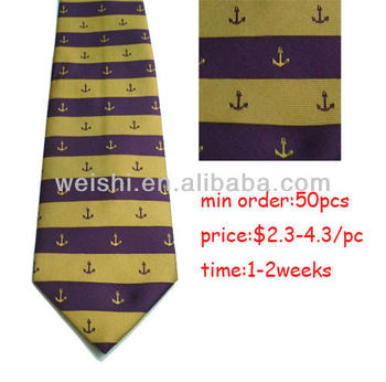 cheap uniform company logo tie
