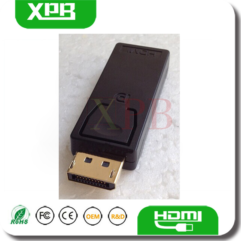 Wholesale New Black DP Adapter for Apple Macbook HDMI Female to DP Male