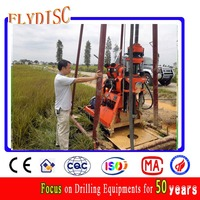 Water Well Drilling rig and machine/ XUL-100 water well drilling rig/ 100m water well drilling machine