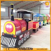 kids battery operated toy train set, roller coaster with 20 seats, amusement equipment kiddie ride