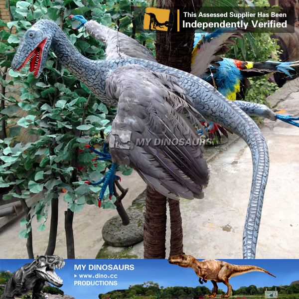 My-dino artificial animatronic decorative bird for sale