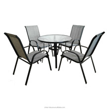 Metal Outdoor Dining Patio Furniture Set