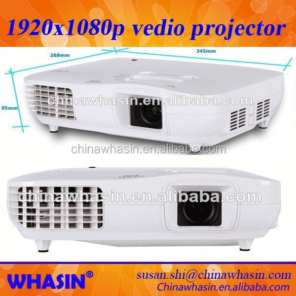 videoproiettori risoluzione nativa 1920x1080 China professional manufacturer,3500 lumens outdoor movie night projector