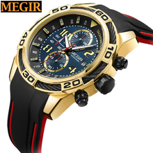 new arrival megir brand watch relojes de hombre african watches
