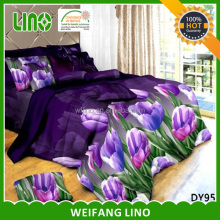 3 d bedding set/home design bed linen/microfiber duvet