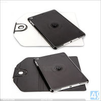 360 rotating tablet case for ipad air with folio pu leather 2015
