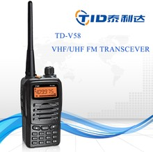 Good quality TID TD-V58 VHF 5W UHF 4W umpire/referees or military walkie talkie