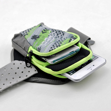 Multifuncational Outdoor Sports Dual Layers Storage Cell Phone Pouch Handbag
