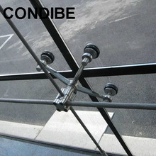 Condibe 4 arms/way/legs stainless steel curtain glass spider fitting