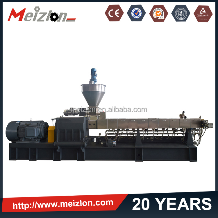 power cable making line,plastic recycling machinery equipment , twin screw extruder machine