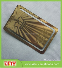 personalized OEM Metal Business/name/memership cards