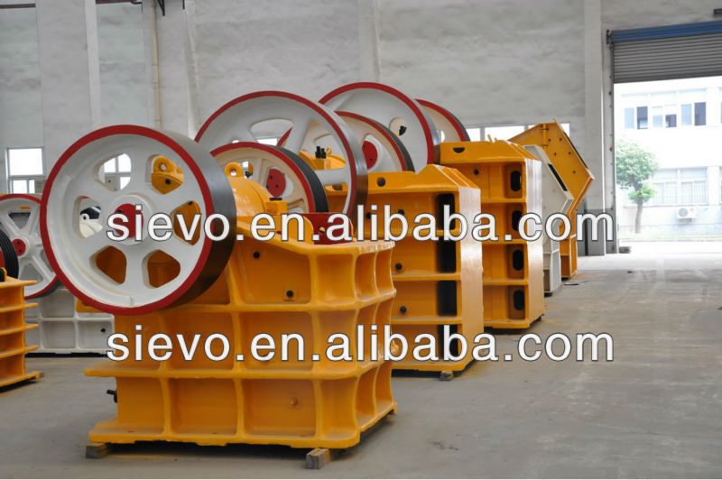 Jaw Crusher for Ballast Stone Crushing