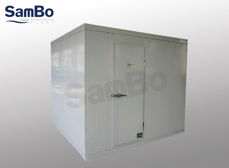 Water cooling walk in freezer cooler refrigeration unit