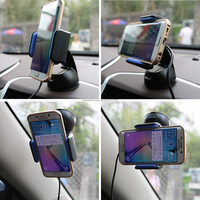 Qi Wireless Charger for Samsung HTC LG Nokia Cell Phone Car Mount Holder