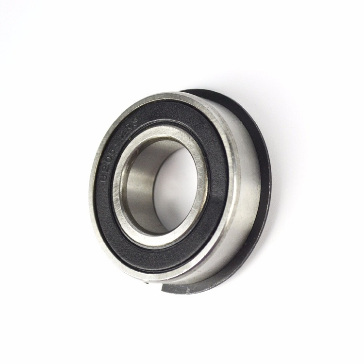 Single row steel cage deep groove ball bearing 6205 c4 with locating snap ring 6205 NR