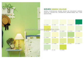 Environmental Green Color Card