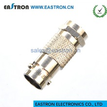 ST adaptor BNC female to F male connector