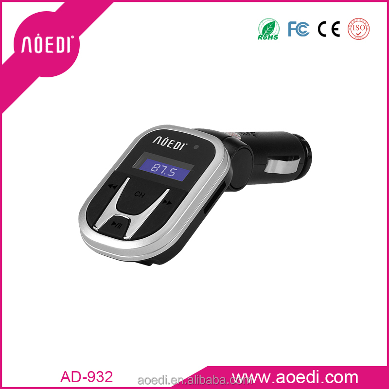 Popular low price dowload free mp3 song player fm transmitter usb support TF card USB disk low price AD-932