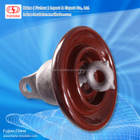 High Voltage Ceramic String Insulator ANSI 52-3 ANSI 52-4