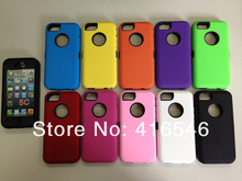 New 2 in 1 PC Silicone Hard Case for Apple iPhone 5C Back Cover