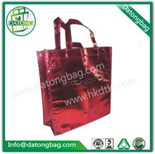 Red handle carry wedding dress packaging bag for shopping