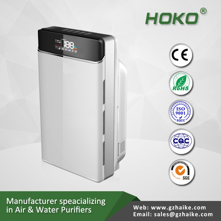 220v home Air Quality Incidating System Air Purifier, Hotel Air Purifier Hepa filter
