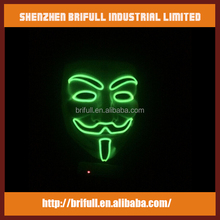 Wholesale factory price party mask supplier EL wire led mask