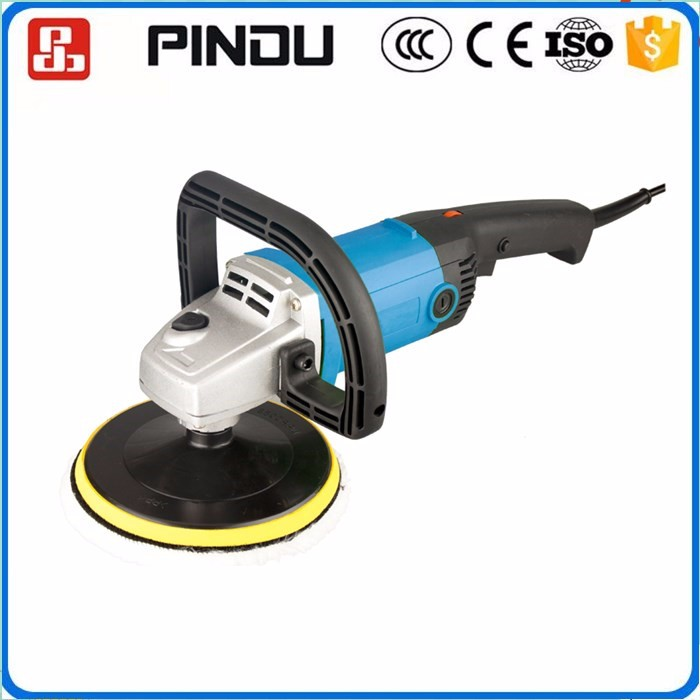 180mm mini rechargeable battery operated cordless car polisher