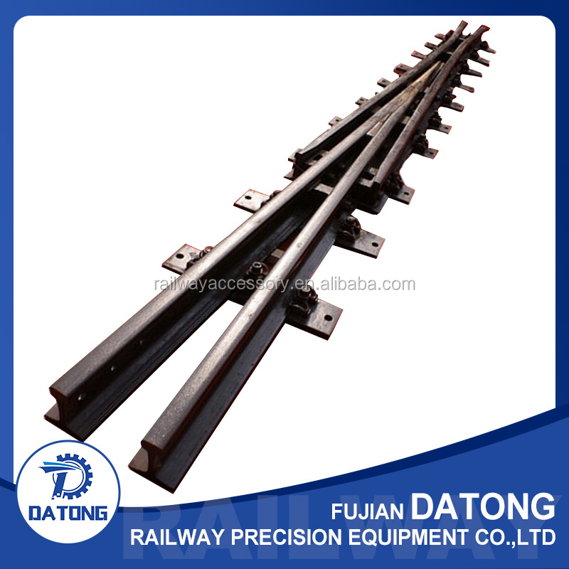 China supplier ISO certified railway rail frogs with CE certificate