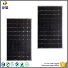 Multifunctional solar panel support structures solar panel usb 12v 100w solar panel price